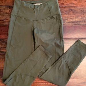 Victoria Secret Olive Green Leggings Size Medium